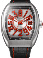 Franck Muller Mens Collection Vanguard Crazy Hours V 45 CH BR (RG)