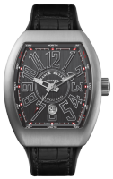 Franck Muller Mens Collection Vanguard V 45 SC DT BR Titan