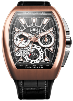 Franck Muller Mens Collection Vanguard Grand Date V 45 CC GD SQT BR
