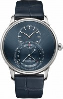 Jaquet Droz Grande Seconde Quantieme Satin-Brushed Blue j007030249