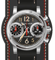 Graham Chronofighter Swordfish 2SXAS.B06A.L166S