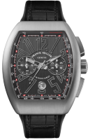 Franck Muller Mens Collection Vanguard V 45 CC DT BR Titan