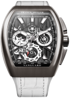 Franck Muller Mens Collection Vanguard Grand Date V 45 CC GD SQT BR 2