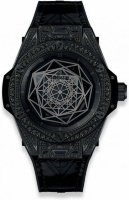 Hublot Big Bang Sang Bleu All Black Pave 39 mm 465.CS.1114.VR.1700.MXM18