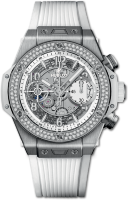 Hublot Big Bang Unico Titanium White Diamonds 441.NE.2010.RW.1104