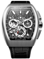 Franck Muller Mens Collection Vanguard Grand Date V 45 CC GD SQT BR 3