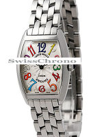 Franck Muller Ladies Medium Cintree Curvex 7502 QZ COL DRM O-5