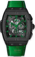 Hublot Spirit Of Big Bang All Black Green 601.CG.0190.LR