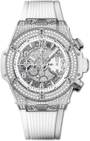 Hublot Big Bang Unico Titanium White Pave 441.NE.2010.RW.1704