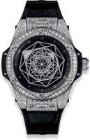 Hublot Big Bang Sang Bleu Steel Pave 39 mm 465.SS.1117.VR.1704.MXM18