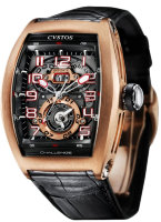 Cvstos Hour Minute Seconde Challenge Twin-Time TT Gold