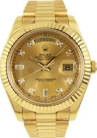 Rolex Day-Date II President Yellow Gold 218238 CHDP