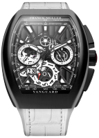 Franck Muller Mens Collection Vanguard Grand Date V 45 CC GD SQT BR NR 1