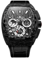 Franck Muller Mens Collection Vanguard Grand Date V 45 CC GD SQT CARBONE 1