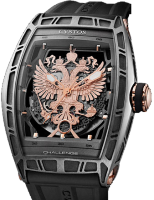 Cvstos Hour Minute Seconde Challenge World Coat Of Arms WCOA Titanium