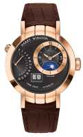 Harry Winston Premier Excenter Time Zone Automatic PRNATZ41RR002