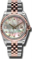 Rolex Datejust Perpetual 36 Ladies 116231 DKMDJ