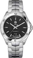 Tag Heuer Link Calibre 5 Day-Date Automatic Watch 42 mm WAT2010.BA0951