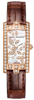 Harry Winston Avenue C Mini Lily Cluster in rose gold AVCQHM16RR041