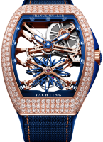 Franck Muller Grand Complications Gravity Vanguard Yachting Skeleton V 45 T GR CS SQT YACHT NBR D RG