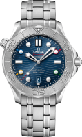 Omega Seamaster Diver 300 m Co-axial Master Chronometer 42 mm Beijing 2022 522.30.42.20.04.001
