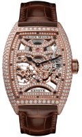 Franck Muller Mens Collection Cintree Curvex Skeleton 8880 B S6 SQT D MVT D