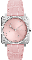 Bell & Ross Instruments BR S Pink Diamond Eagle BRS-EP-ST-LGD/SCR