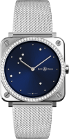 Bell & Ross Instruments BR S Blue Eagle Diamonds BRS-EA-ST-LGD/SST