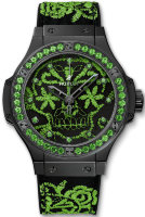 Hublot Big Bang Broderie Sugar Skull Fluo Malachik Green 41 mm 343.CG.6590.NR.1222