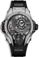 Hublot Mp-09 Tourbillon Bi-Axis Titanium Pave 909.NX.1120.RX.1704