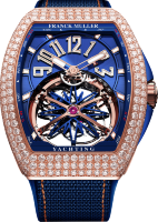 Franck Muller Mens Collection Gravity Vanguard Yachting V 45 T GR CS BL D RG