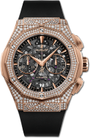 Hublot Classic Fusion Chronograph Orlinski King Gold Pave 525.OX.0180.RX.1704.ORL19