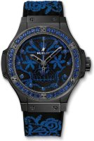 Hublot Big Bang Broderie Sugar Skull Fluo Cobalt Blue 41 mm 343.CL.6590.NR.1201
