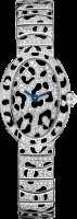 Cartier Creative Jeweled Watches Mini Baignoire panther spots HPI00704