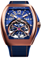 Franck Muller Mens Collection Gravity Vanguard Yachting V 45 T GR CS BL RG