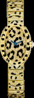 Cartier Creative Jeweled Watches Mini Baignoire panther spots HPI00961