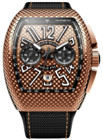 Franck Muller Mens Collection Vanguard PXL V 45 CC DT GOLD PXL