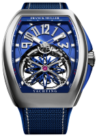 Franck Muller Mens Collection Gravity Vanguard Yachting V 45 T GR CS BL ST