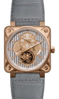 Bell & Ross Aviation BR 01 Tourbillon BR 01 Tourbillon Pink Gold Black