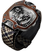 Urwerk Satellite UR-110 Eastwood Red Ebony