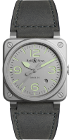 Bell & Ross Instruments 42 mm Steel BR 03-92 Horolum BR0392-GR-ST/SCA