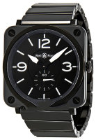Bell & Ross Instruments 39 mm Quartz BR S Black Ceramic