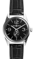 Bell & Ross Vintage BR Automatic BR 123 Officer Black