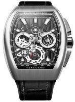 Franck Muller Mens Collection Vanguard Grand Date V 45 CC GD SQT ACB