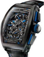 Cvstos Challenge Chrono GP Black Steel Blue