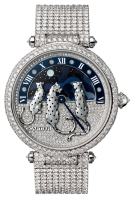 Cartier Creative Jeweled Watches Feminine Complications Reves de Pantheres Watch HPI00931