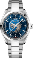 Omega Seamaster Aqua Terra Co-axial Master Chronometer GMT Worldtimer 43 mm 220.10.43.22.03.001