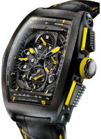 Cvstos Challenge Chrono GP Black Steel Yellow