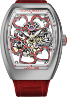 Franck Muller Vanguard Heart Skeleton V38 S6 SQT HEART