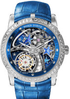 Roger Dubuis Excalibur Single Flying Tourbillon Shooting Star Blue RDDBEX0660